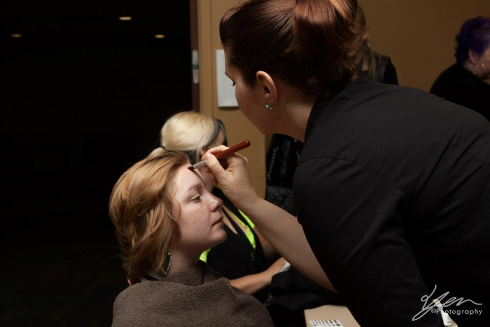 Hair and makeup is done by the generous efforts of Sunstate Academy Photography by Casper Yen